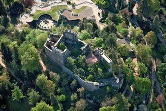 Château Baden - Badenweiler; l'image: Staatliche Schlösser und Gärten Baden-Württemberg, Achim Mende