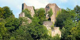 Château-fort de Badenweiler, l'image: Staatliche Schlösser und Gärten Baden-Württemberg, Achim Mende
