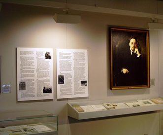 Ein Blick in das Museum Tschechow-Salon in Badenweiler