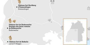 """Carte de région """"Rhin supérieur méridional"""""""