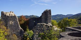 Ansicht der Burg Badenweiler