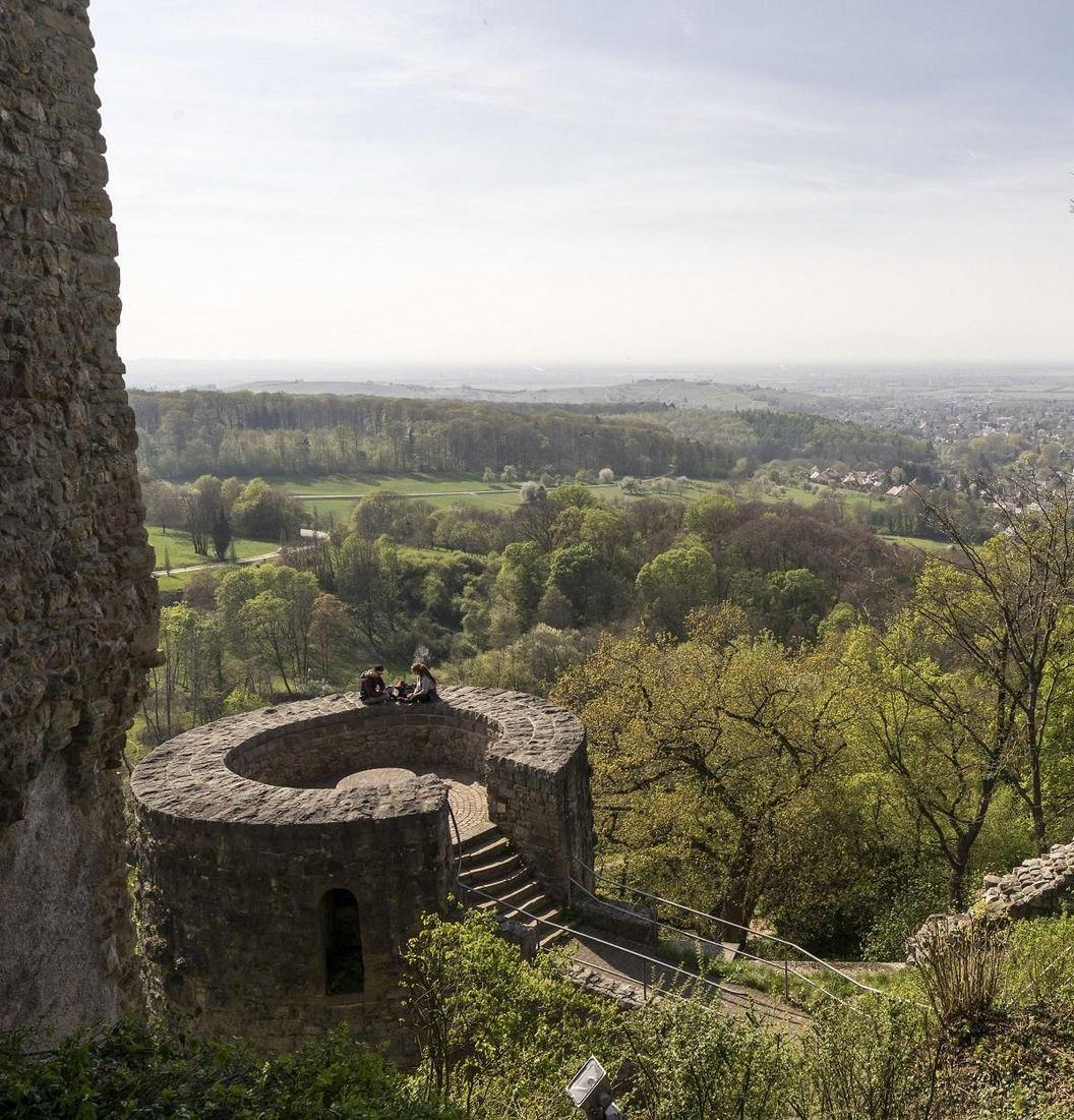 Badenweiler Castle, exterior view