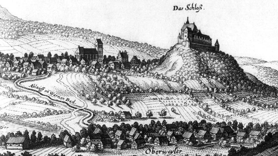 Burg Badenweiler; Foto: Landesmedienzentrum Baden-Württemberg, Robert Bother